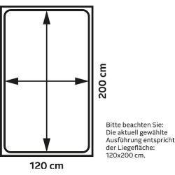 Polsterbett Lewisham ¦ grün ¦ Maße (cm): B: 201 H: 222 T: 105 Betten > Polsterbetten » Höffner Höffn #productiondesign