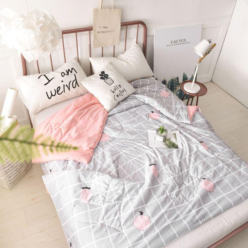 Light Weight Blanket For Summer Floral Bedspreads Thin Blanket Quilt Twin Size Summer Blanket Polyester Sum Bed Quilt Cover Floral Bedspread Quilt Sets Bedding