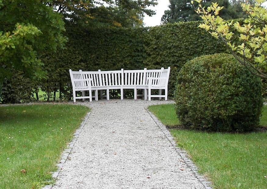 Einfachen Kiesweg anlegen, Splittwege Garten - gartenwege anlegen kies