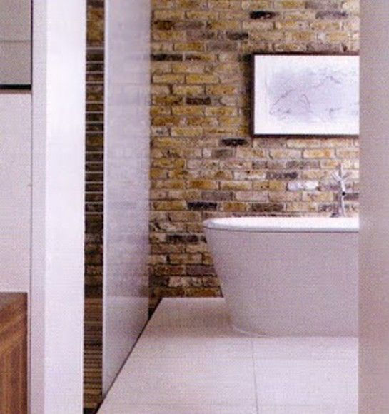 Victorian Exposed Brick Bathroom   Google Search