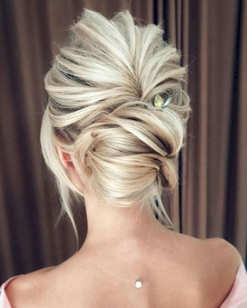 stunning updos that you can do it yourself 48 | Wedding hairstyles, Hair styles, Hair