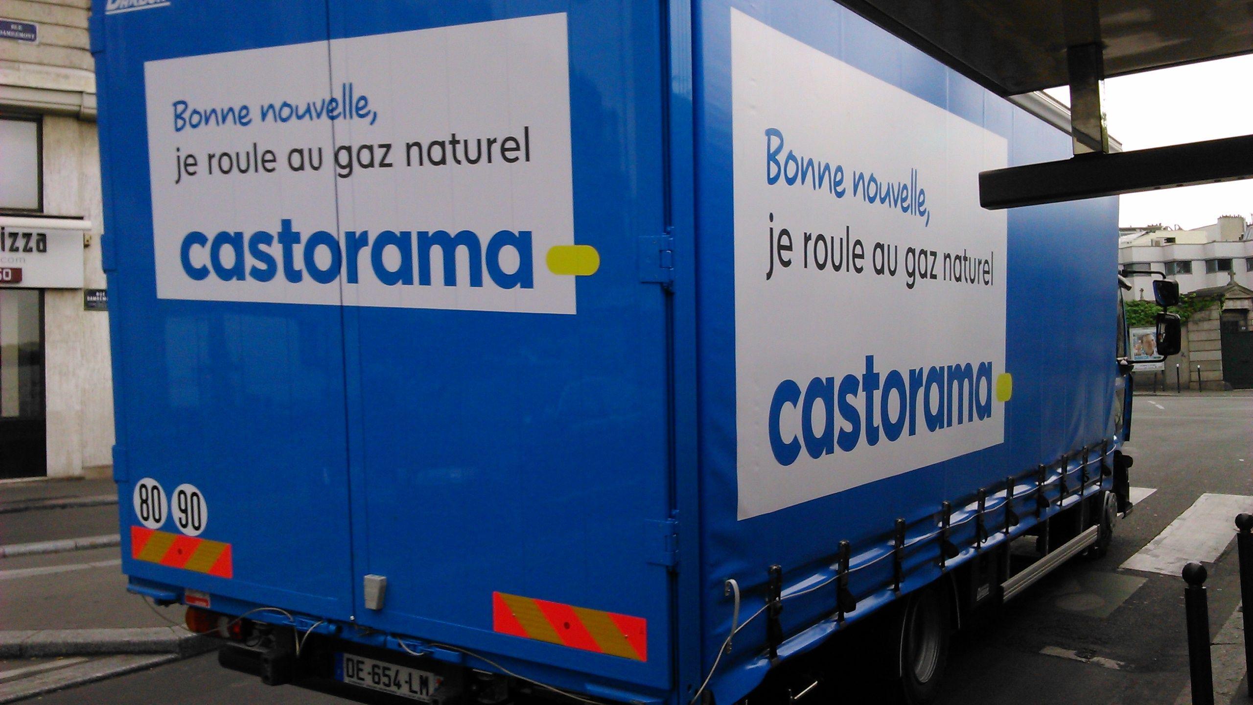 Camion Renault Trucks Pvi Au Gnv Location Camion Castorama Camion