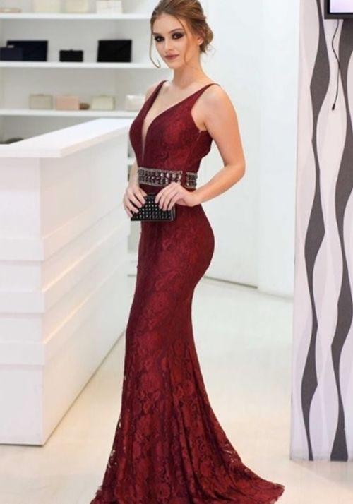 Psiu Noiva - 22 Inspirações de Vestido Marsala para Madrinhas