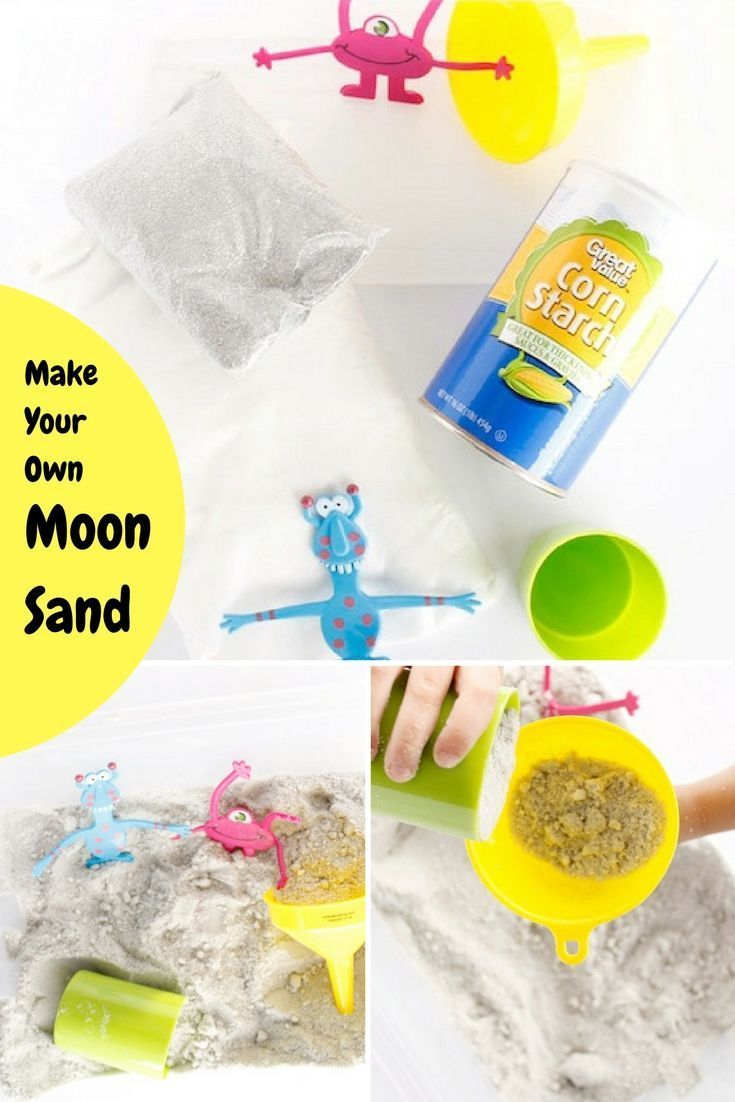 Best Diy Crafts Ideas For Your Home : Making moon sand is easier ...