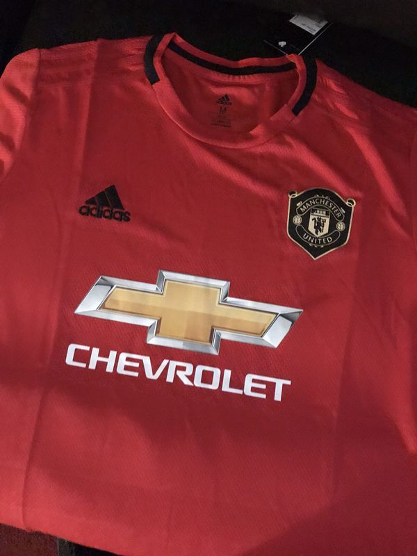 Manchester United 2019 2020 Jersey Mens Tops Manchester United