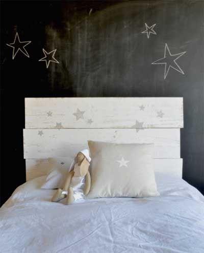 20 fotos e ideas para hacer cabeceros de cama infantiles y - Hacer cabeceros cama ...
