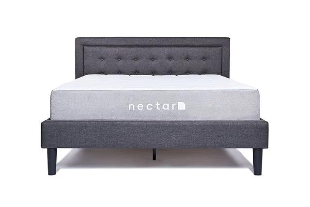 elegant platform Full bed frame with headboard full