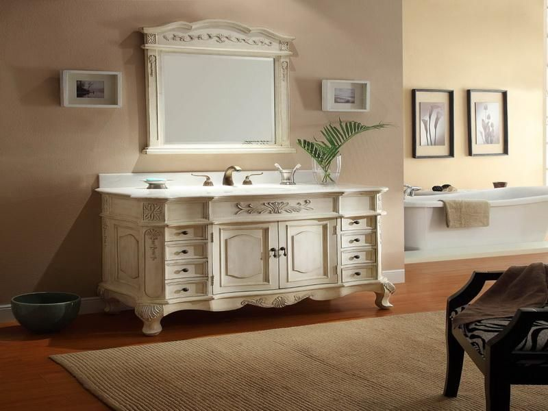 Franzosisch Badezimmer Eitelkeit Design Stil Badezimmer Waschtisch Landhausstil Waschbeckenunterschrank
