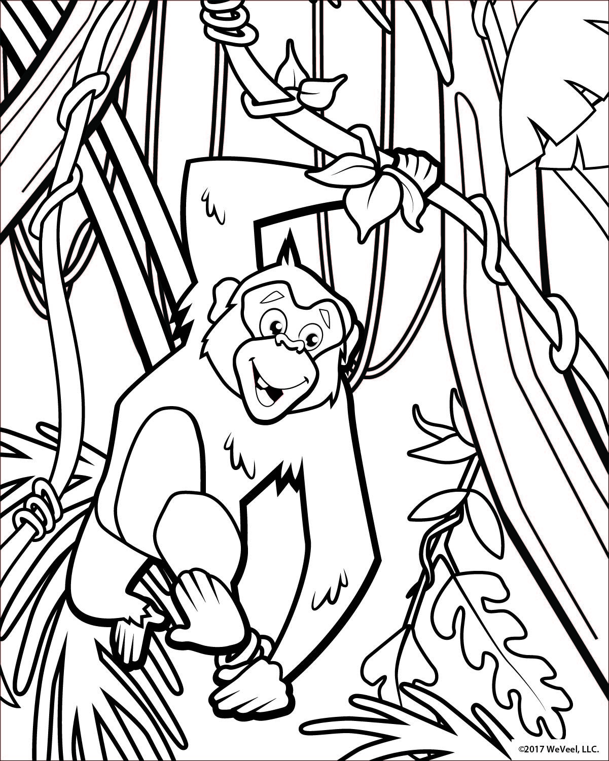 Coloring Pages Jungle Free Kids Coloring Pages Animal Coloring Pages Jungle Coloring Pages