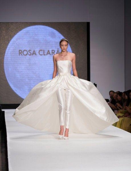 Avance Vestidos de Novia Rosa Clara 2014. Desfile de su nueva ...