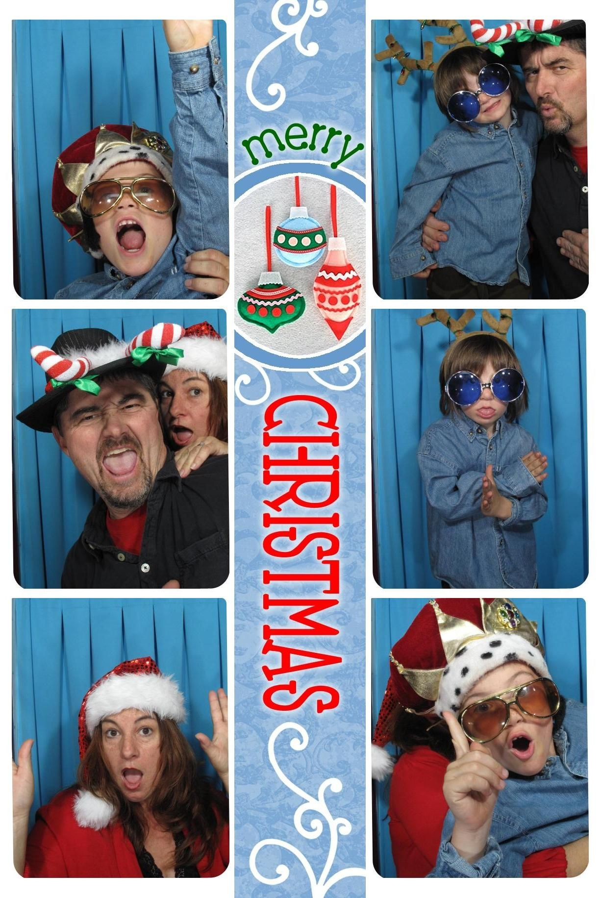 Image result for photo booth christmas card   Holiday   Pinterest ...