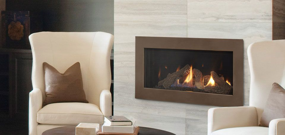 Cosmo 32 With Tonic Front In Bronze Finish With Log Set Urban