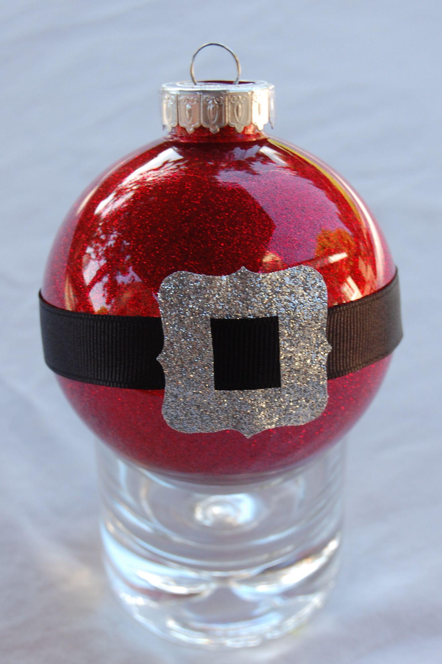 30+ Glitter santa tree decorations inspirations