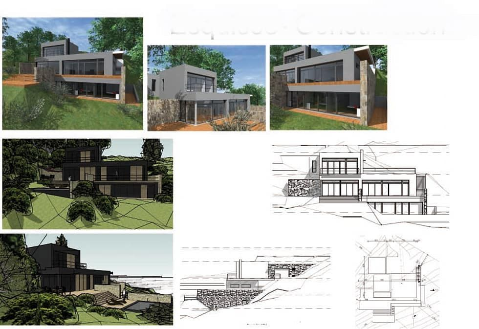 Photos de maisons de style de style moderne  construction du0027une