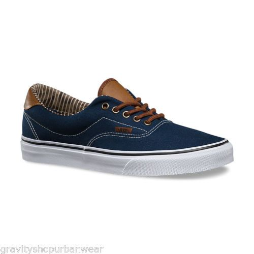 35c131e048 Zapatillas Shoes Mens Vans 59 C L Dress Blues Stripe Street Skate Urban