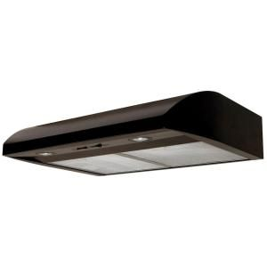 Air King Essence 30 In Under Cabinet Convertible Range Hood With Light In Black Ab30bl The Home Depot Range Hood Under Cabinet Range Hoods Range Hoods