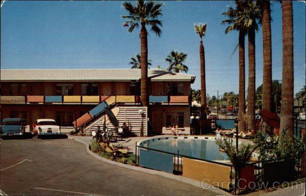 Phoenix Az Egyptian Motor Hotel 765 Grand Avenue Arizona The Newest In Hotels