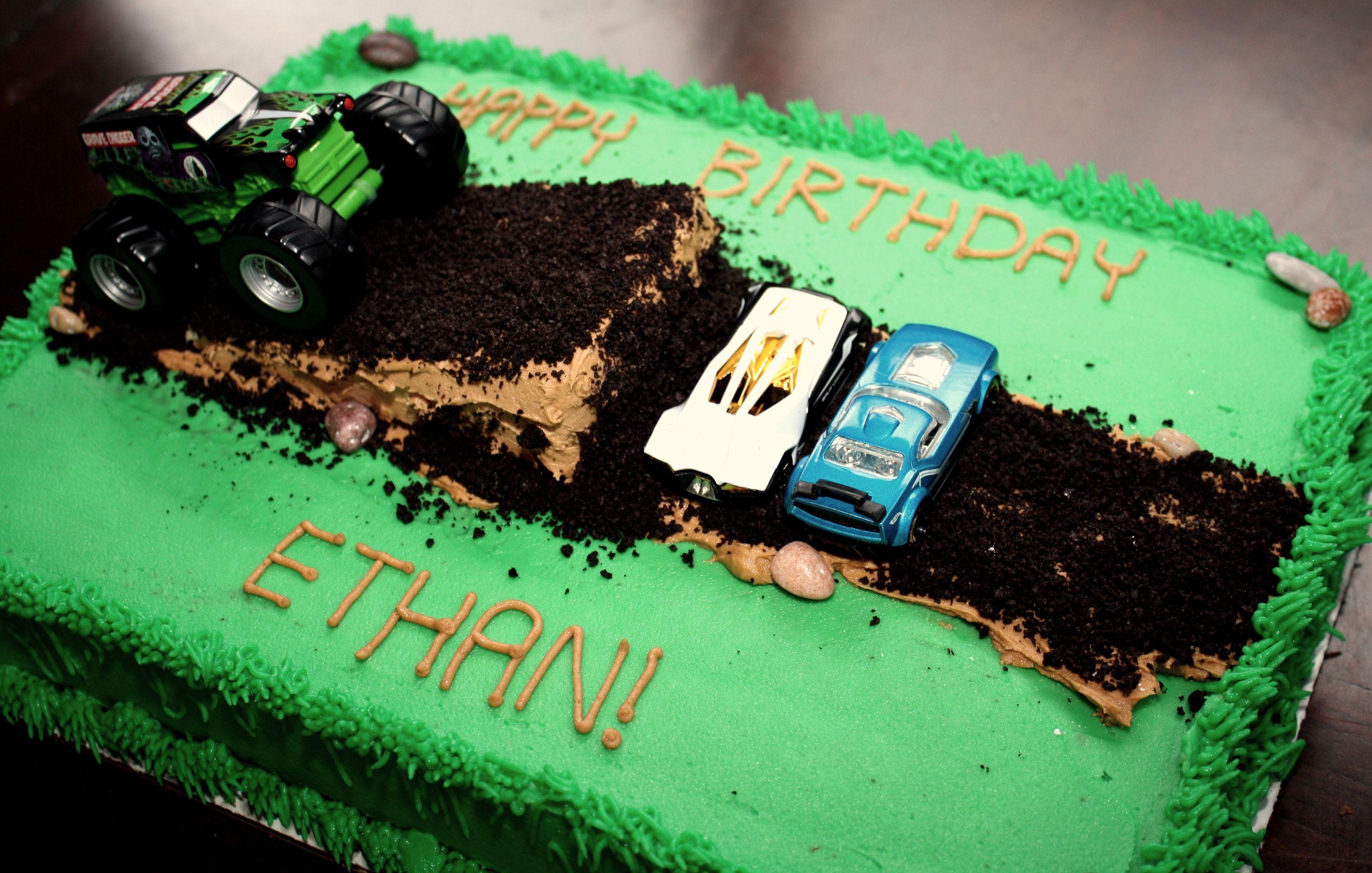 Easy Monster Truck Cake Ideas 54303 Monster Truck Cake Sup