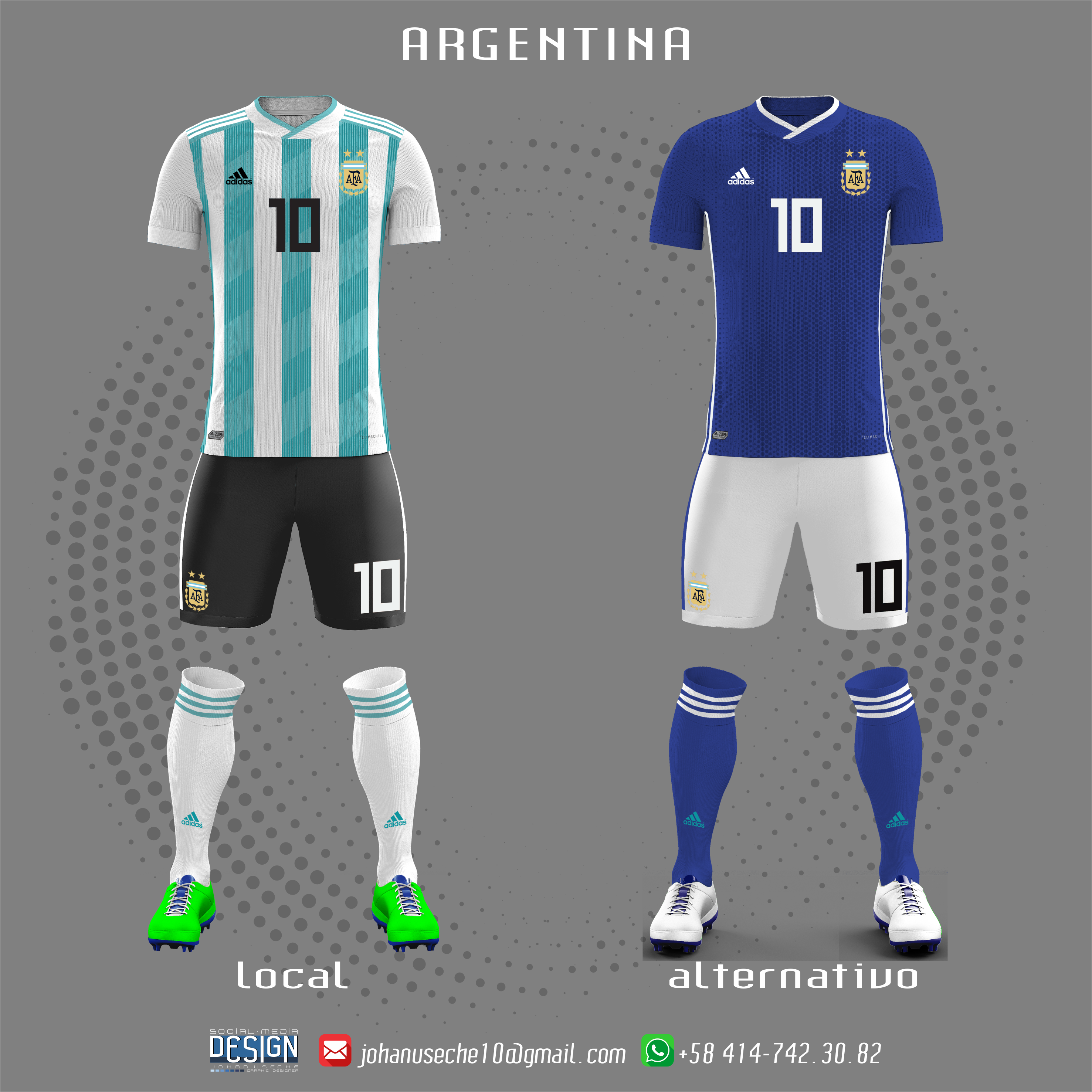 2bfbf0a84d3 kit Argentina copa américa 2019 (no oficial) best of canmebol copa of  America