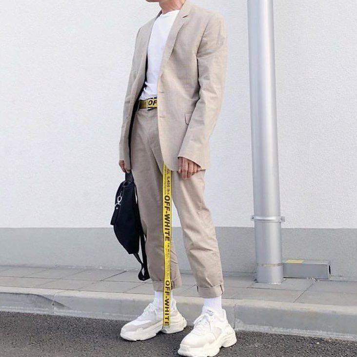Streetwear On Instagram Are Off White Belts A Cop Or Drop Off White Fashion Off White Belt Highsnobiety Fashion