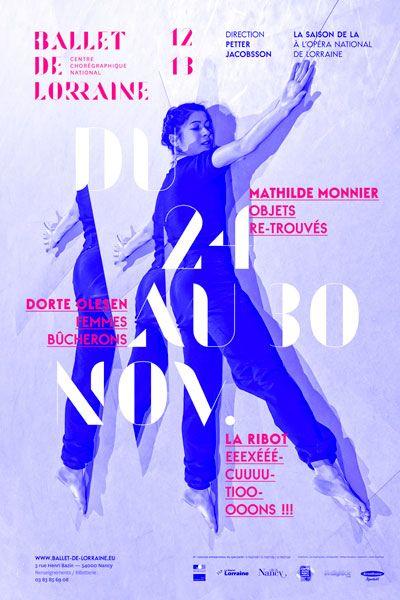 les graphiquants - CCN Ballet de Lorraine - #graphic #design