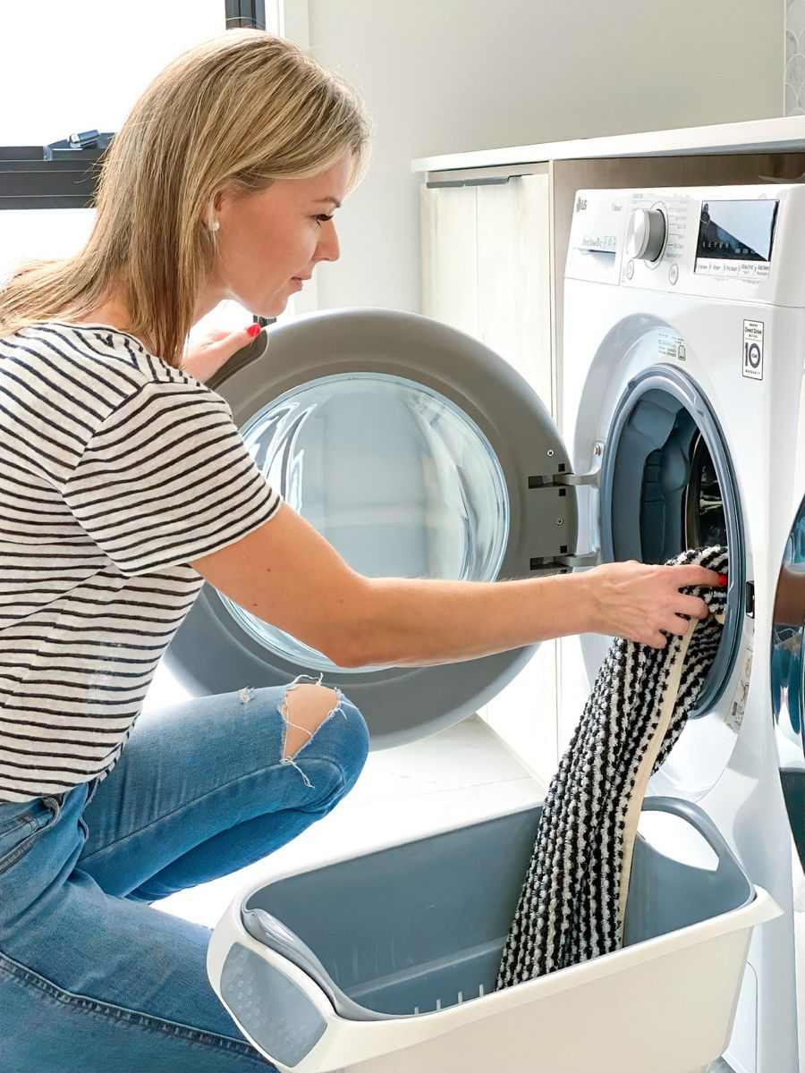 Is Your Washing Machine As Smart As Ours Zephyr Stone Washing Machine Front Loader Washing Machine Front Loading Washing Machine