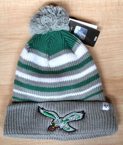 d7fcc387a66 Philadelphia Eagles Incline Cuffed Knit Hat with Legacy Logo