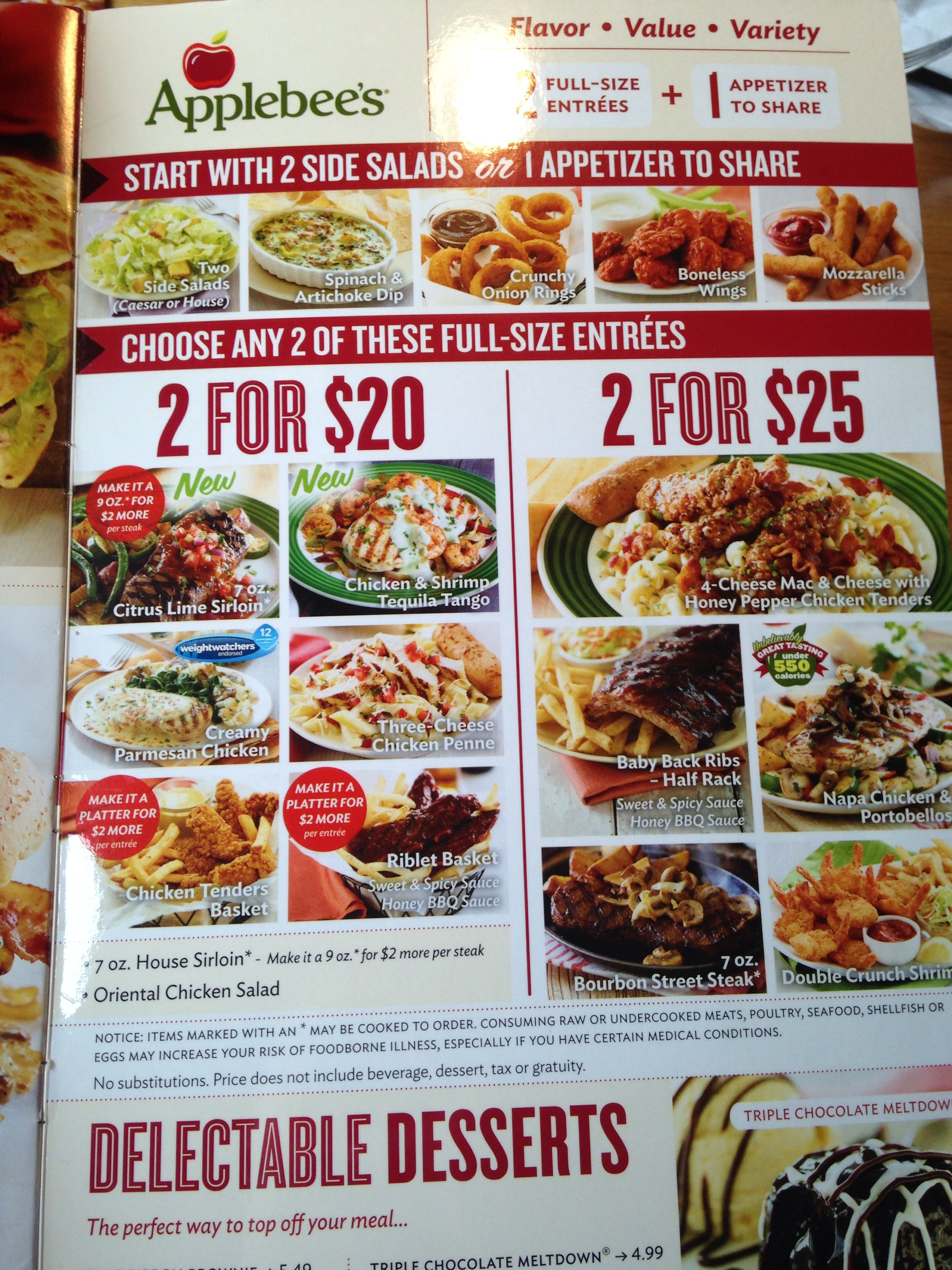 4 I Was Happy To See That Applebee S Adopted A Discount