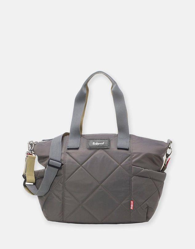 c1bcf85ec3ff1 Babymel Evie Qulited Nappy Bag - Grey   Babymel   Bags, Changing bag ...