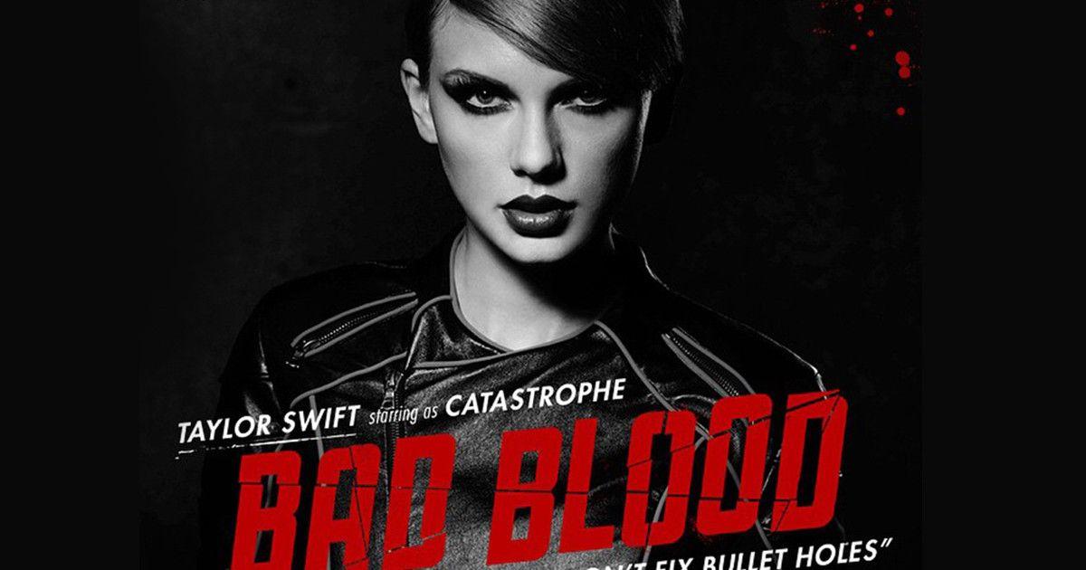 """Für das neue Video """"Bad Blood"""" der Sängerin tun sich gleich eine ganze Reihe Celebrities zusammen – wer alles dabei ist, erfahren Sie hier"""
