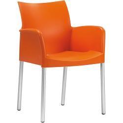 Click Sessel / Kunststoff & Armlehnen Bambus - Houe - Schwarz HoueHoue #stoelen