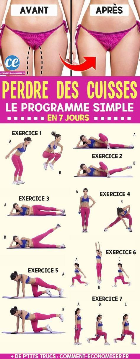 comment maigrir des cuisses et du ventre femme exercice
