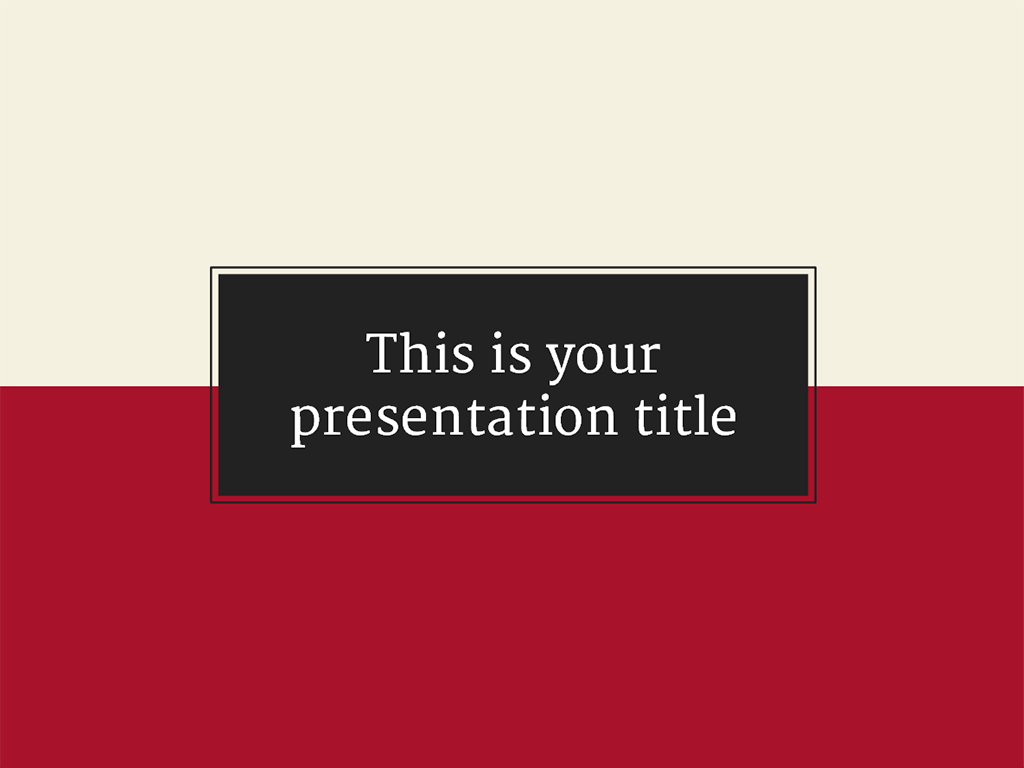 a formal but elegant template for your presentations. you can, Presentation templates