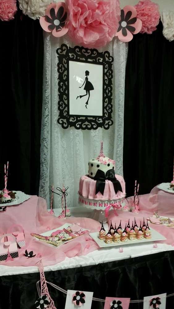 French Parisian Baby Shower Party Ideas Party Ideas Treats