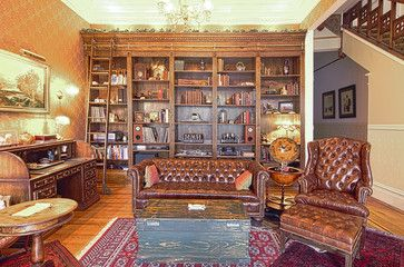 Sanfranvic  Traditional  Living Room  San Francisco  Alex Prepossessing Living Room Library Design Inspiration