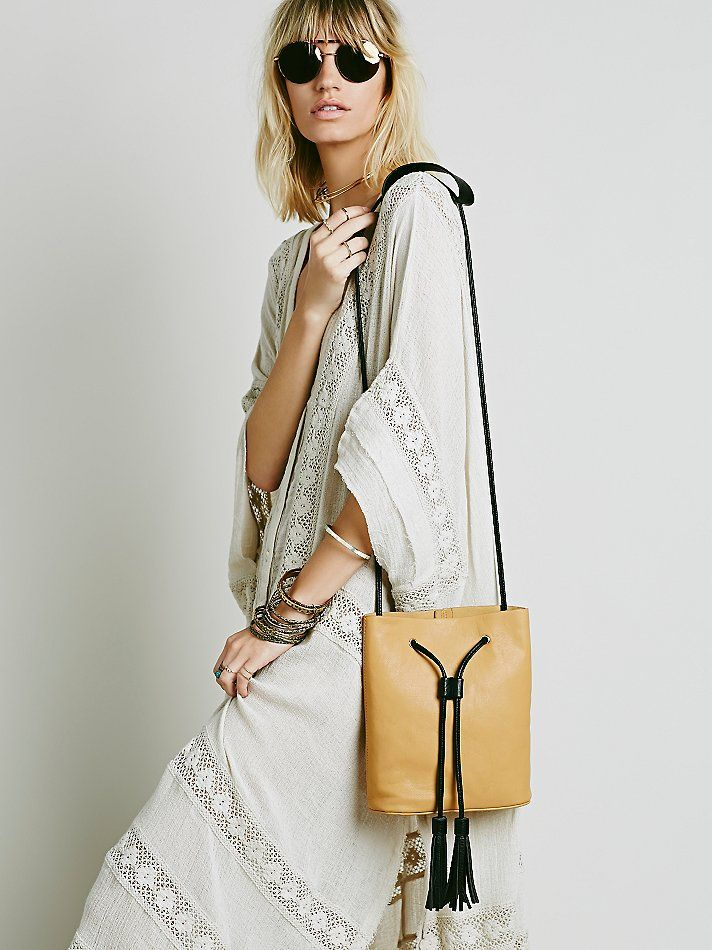 Free People Babylon Bucket Bag at Free People Clothing Boutique