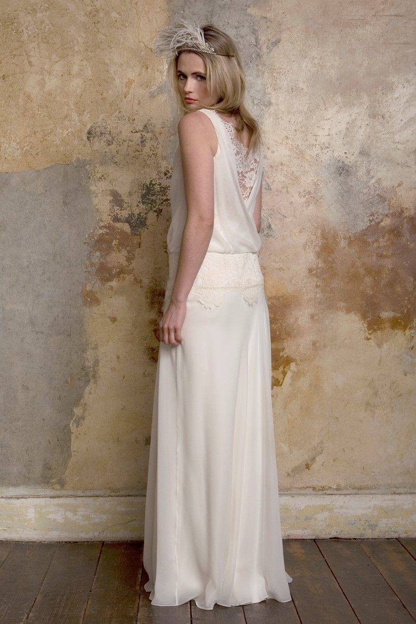Romantic vintage wedding dresses from sally lacock svatby