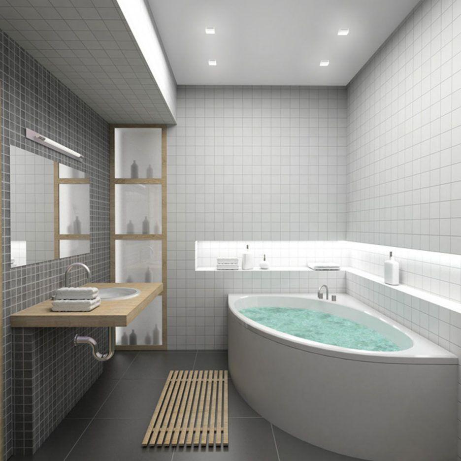 Bathroom. Charming Small Bathroom Ideas With Large Tiles. Small ...