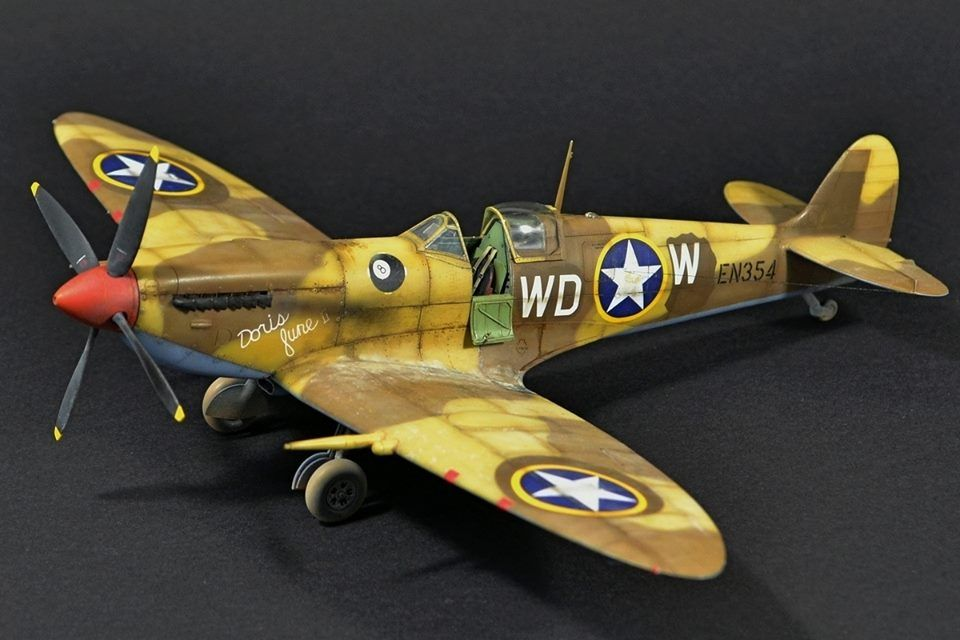 Spitfire Mk Ixc Early Version In 1 48 Scale Aircraft Modeling Scale Model Kits Model Kit