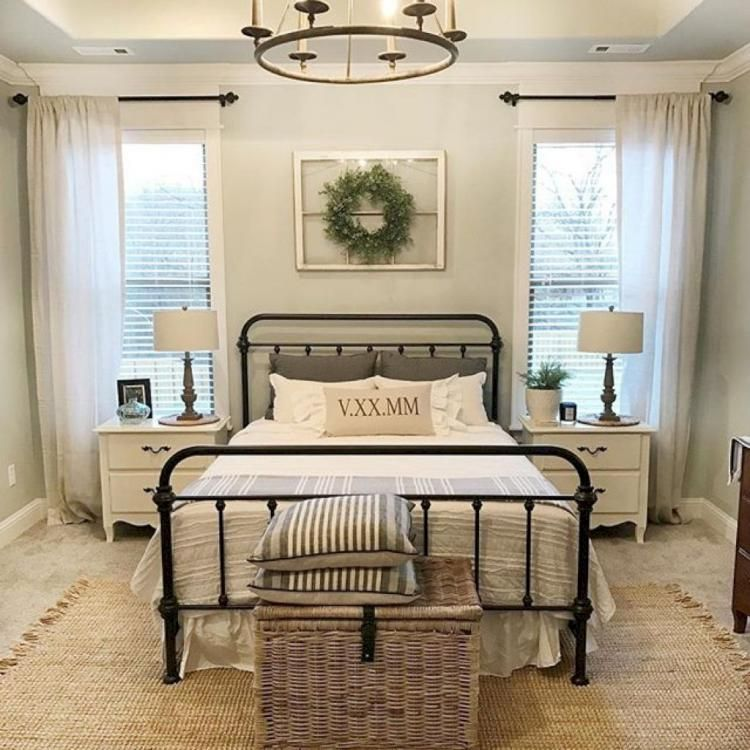 Best Bedrooms Furniture Design For Farmhouse Style