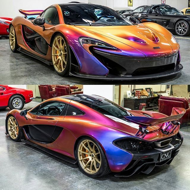 Price This McLaren P1 Shade Scheme From 1 10 Within The
