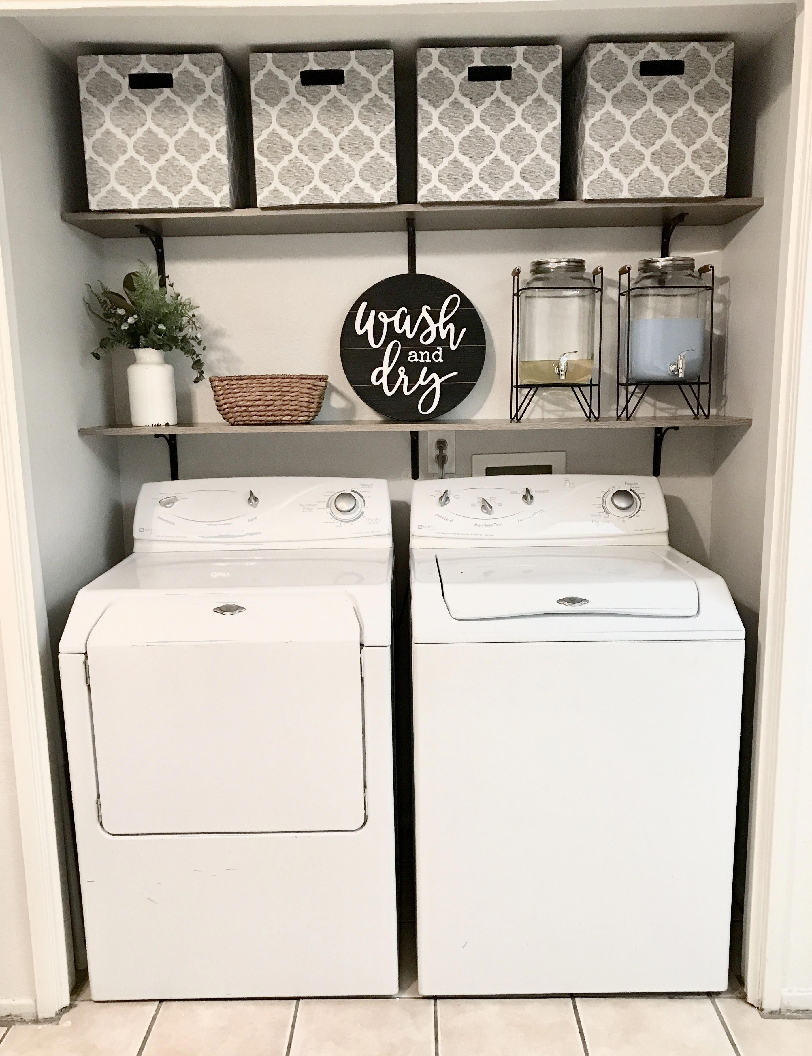 Determine Additional Relevant Information On Laundry Room Storage Diy Shelves Browse Through Ou Laundry Room Inspiration Laundy Room Laundry Closet Makeover