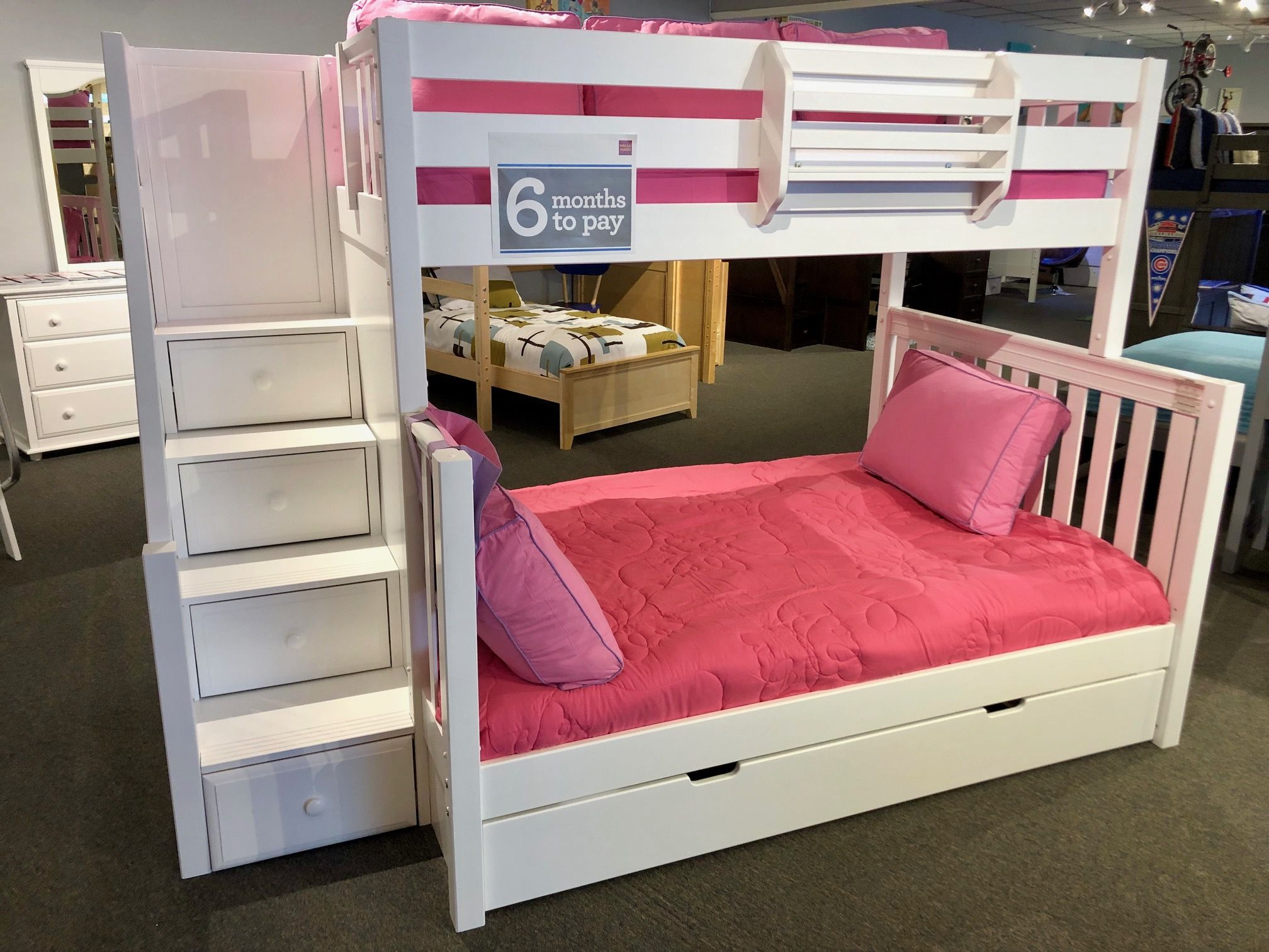 Safety Stair Bunk Bed Bunk Bed With Trundle Bunk Beds Trundle Bed