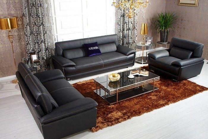 Italienischen Top Leder Sofa Sets Schwarz Italienische Leder Sofa Set Elegante Italienische Leder Sofa Setzt Sofas Sofa Ledersofa Sofa Set Designs