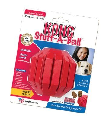 THE KONG COMPANY  STUFF A BALL LARGE ** Check out the image by visiting the link.(This is an Amazon affiliate link)
