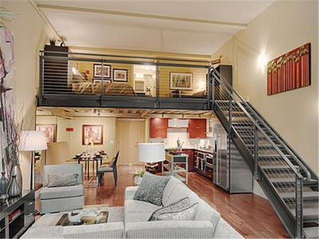 One Bedroom Loft Living At Madison Lofts Small Loft Apartments One Bedroom House Loft House