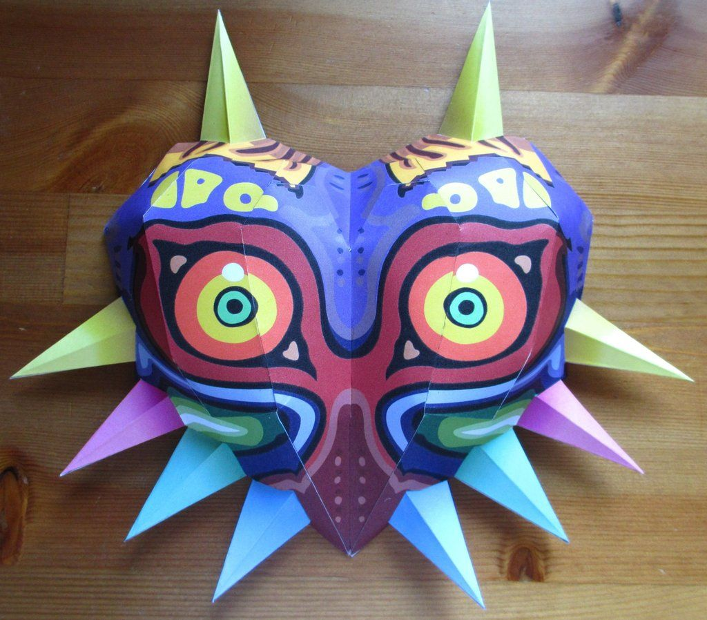 life size Majoras Mask papercraft by minidelirium. | Papercrafts ...