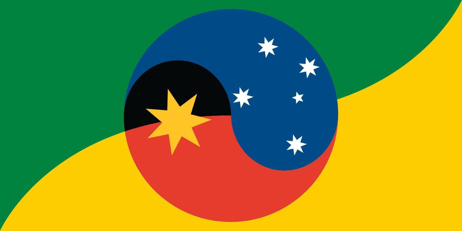 Australian Flag Proposal Earthmother Republic 2015 Australian Flags Australian Flag Ideas Flag