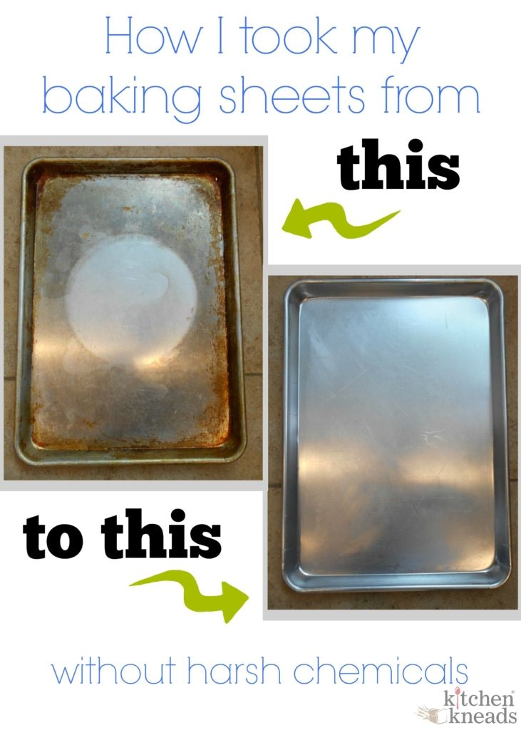 How To Clean Baked On Grease From Your Baking Sheets Kitchen