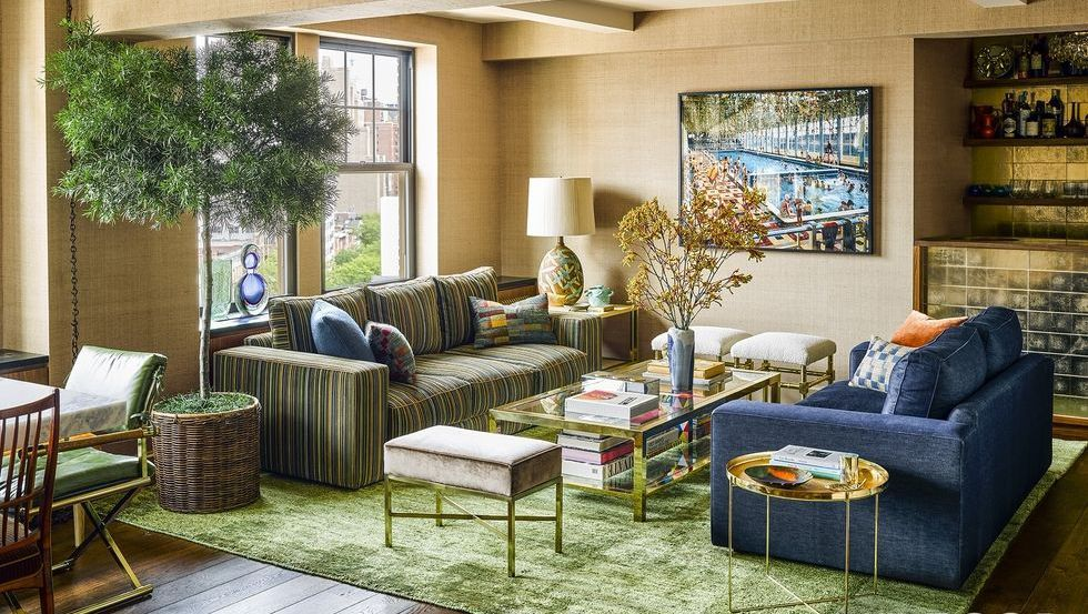 10 Amazing Olive Green Walls Living Room
